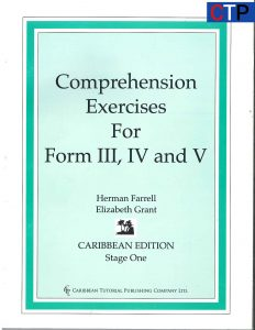 Comprehension exercises form 3-5.logo