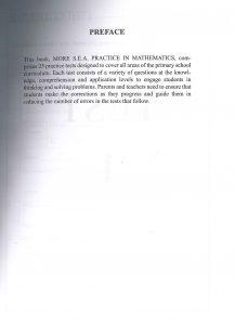 MORE SEA practice in math & Lang arts.2