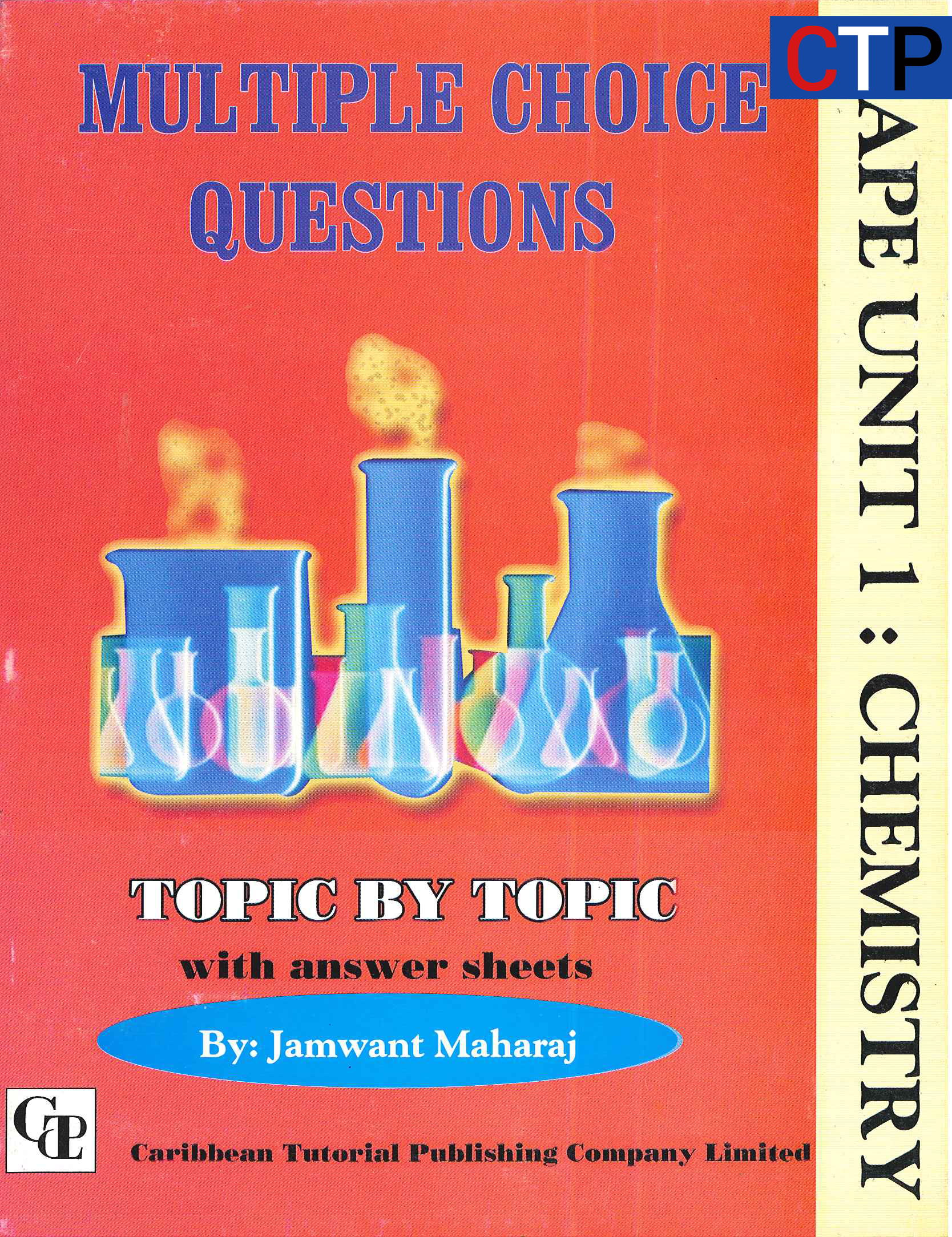 CAPE Unit 1 Chemistry Multiple Choice Questions - Caribbean Tutorial