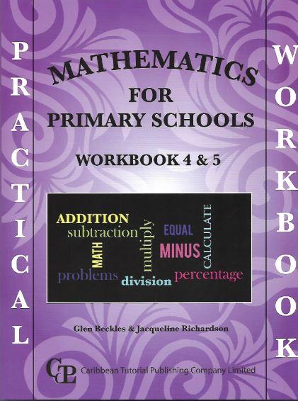 practical mathematics for primary schools workbook 4  u0026 5